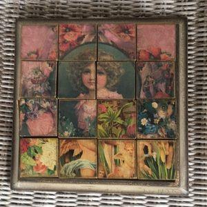 Victorian tray puzzle